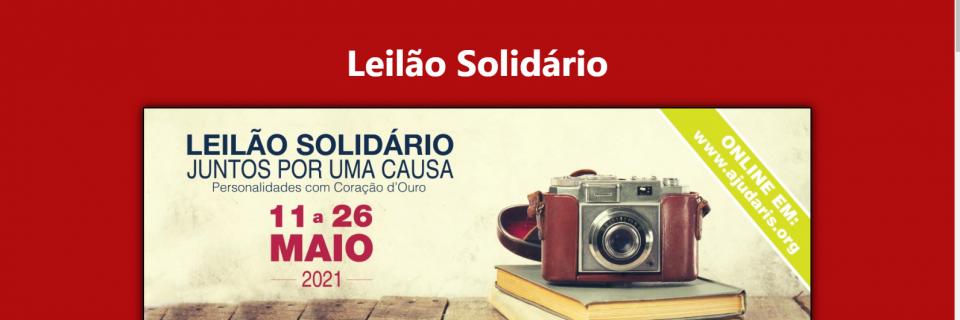 leilão solidário